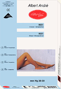 Medical Pantyhose: Albert Andre Therapeutic Pantyhose KK1 (size 50Kb)
