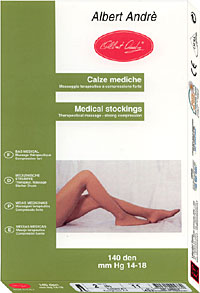 Medical Pantyhose: Albert Andre Therapeutic Pantyhose 140den (size 56Kb)
