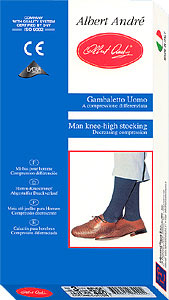 Travel Socks: Albert Andre Graduated Compression Cotton Socks 230den (size 76Kb)