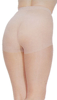 Control Top: Music Legs Lycra Control Top Support Pantyhose (size 15Kb)